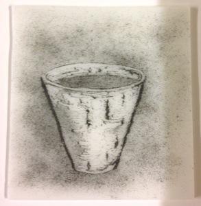 lucy rie flower pot